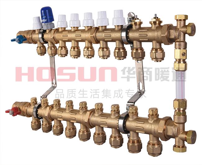 地暖分水器品牌哪个好,抗水压防腐蚀这些是关键!